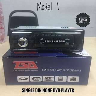 USB Radio Single Din Player TERMURAH