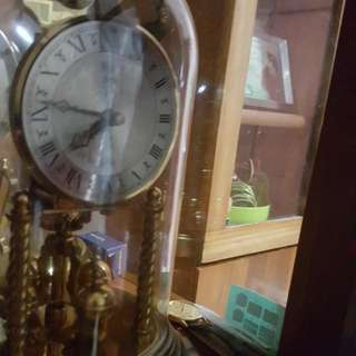 1930s Koma German Table Clock Work Throughout The Year Its An Engine Clock In Superb Condition With Original Glass Cover