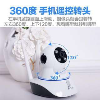 Wireless 360degree 1080p HD Remote Surveillance IP Camera Security CCTV