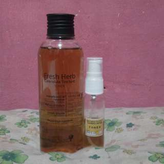 (SHARE IN BOTTLE 12 mL, 25mL) NATURAL PACIFIC FRESH HERB TINCTURE TONER