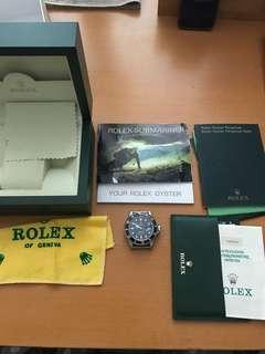 Rolex 16610 Submariner X series