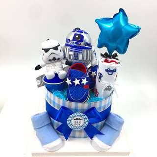 Diaper Cake - Star War Plushie