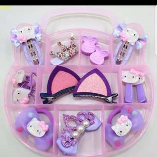 Hello Kitty Hairclip accessories