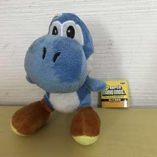 super mario bros dinosaur blue yoshi 16 cm soft toy plush stuff stuffed toys doll