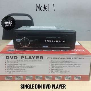Radio Single Din Dvd Player TERMURAH