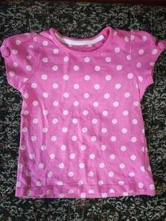 Pink Polka Dots Blouse