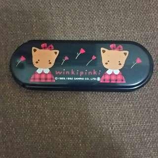 Sanrio Winkipinki 鏡連衫刷 1992