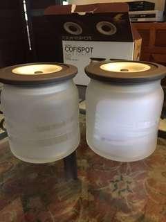 Sugar and milk pots