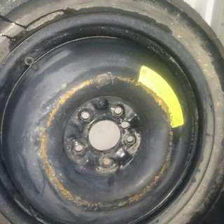 17 inch spare tyre