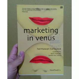 MARKETING IN VENUS - HERMAWAN KERTAJAYA