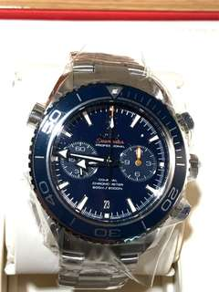 HKD83,300 鈦金屬 OMEGA SEAMASTER PLANET OCEAN 600M 2000ft co-axial sea-Master chronometer chronograph watch