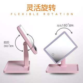 (PREORDER)Mirror stand w/Led light