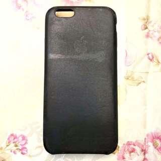 iPhone 6 6S 原廠手機 真皮 皮套 宇宙藍