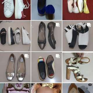 Follow @thethriftshop.isa instagram page. Bags and Shoes. All Branded