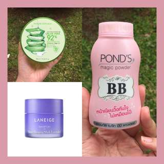 NR + BB PONDS + LANEIGE