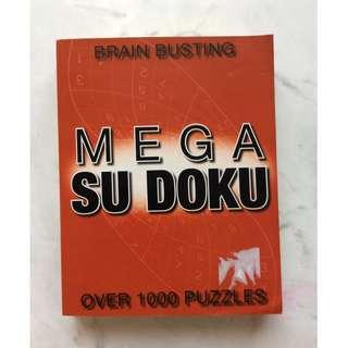 Mega Sudoku over 1000 puzzles