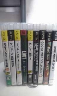 Ps3 Game(自行開價,可散買)