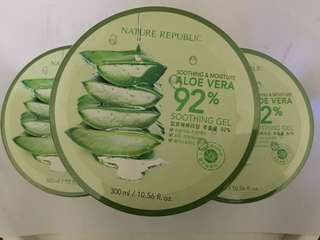 Nature Republic Aloe Vera 92% Soothing and Moisture