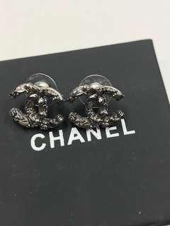 Chanel 耳環 通心珠珠耳環全新購自巴黎