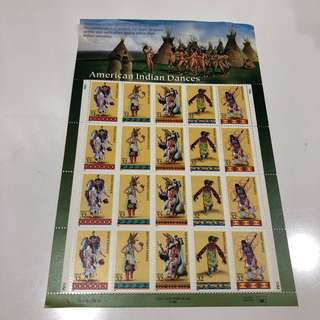 Indian Dance Stamps