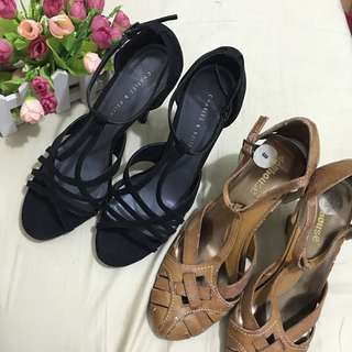 Charles & keith shoes + dollhouse wedge bought in usa