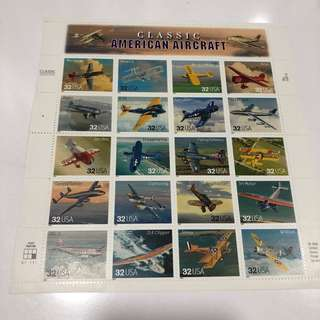 American Aircraft Stamps