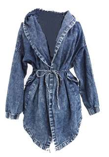 Oversized Jean Coat