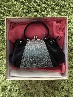 Judith Leiber full bead crystal evening bag