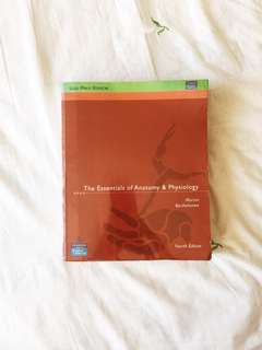 Textbook – The Essentials of Anatomy and Physiology
