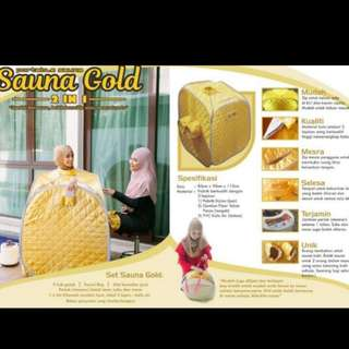 Sauna gold - 2 in 1 detox and slimming