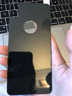 iPhone X 0.3mm back tempered glass screen protector