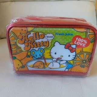 絕版Hello Kitty bling bling化妝袋