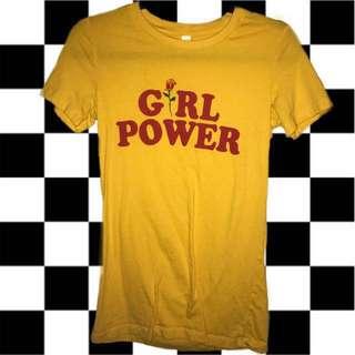 ⚡️YELLOW GIRL POWER TEE⚡️