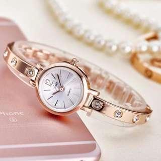 JW Korean fashion stainless ladies quartz watch