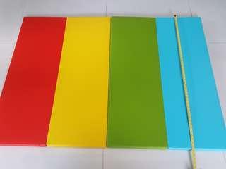 Baby company folder mat
