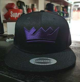 NBA BASKETBALL SNAPBACK CAP SACRAMENTO KINGS