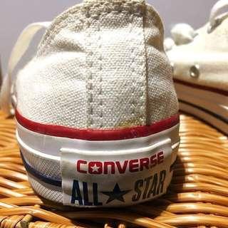 Pristine Converse White All Star Sneakers