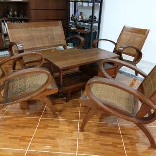 British Colonial Style Sofa set