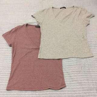 V-line T-shirt