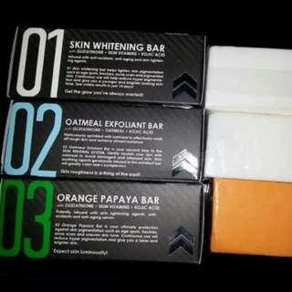 #1 WHITENING SOAPS