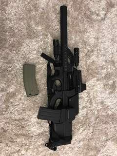 War Game toy gun 電動玩具槍 P90