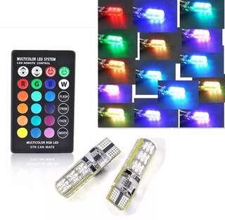 T10 Multi colour LED Bulb