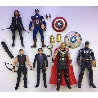 Marvel Legends Marvel Select war no BAF