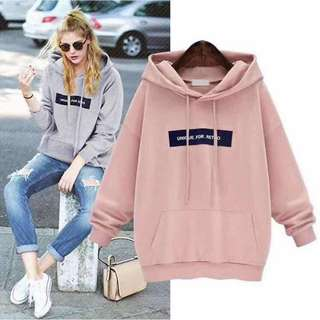 💁🏻♀Unique Sweater w/hood ✔️2 colors only ✔️freesize fit Medium to Large  ✔️Cotton Fabric