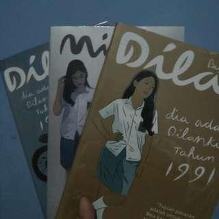 Nove Dilan (lengkap 3 buku)