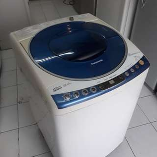 Panasonic 8kg fully automatic washing machine 01133530275 call me WhatsApp