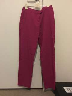 Topshop hot pink pants