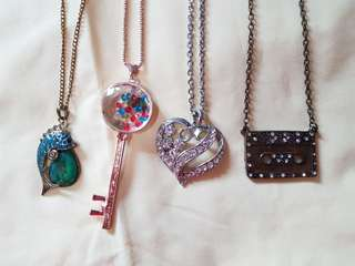 All 4 necklace for 150php