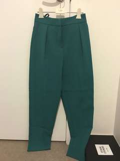 Topshop green pants