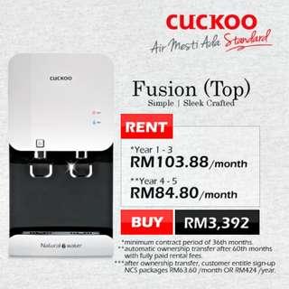 Cuckoo Fusion Top- Sambung Bayar